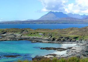 The south Skye coast